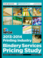 2013-14 Printing Industry Bindery Services Pricing Study