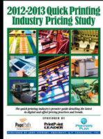 2012-13 Quick Printing Industry Pricing Study