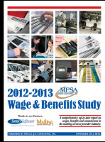 2012-2013 Mailing Industry Wage & Benefits Study Pricing Study